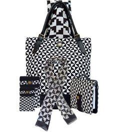 Bagabook liquorice Black & White accessories