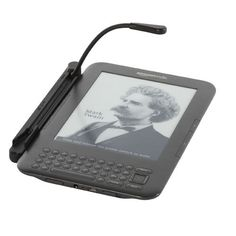 """SimpleLight for Kindle, Attaches to Kindle Keyboard (6"""" Screen), NO Batteries Needed"""