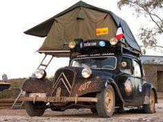 "Camper Citroen ""Traction Avant"" I Beliv.!?"