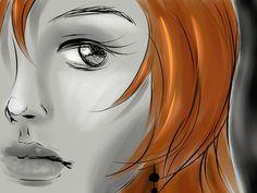 Redhead Doodle by SandOfSadness.deviantart.com on @DeviantArt