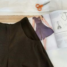 Roehampton culottes taking shape in sewing class. Circle Skirt Pattern, Patterned Sheets, Easy Sewing Patterns, Basic Shapes, Sewing Class, Buttonholes, Two Pieces, Dressmaking, Simple Designs