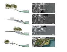 Simple River Bank Section Drawings