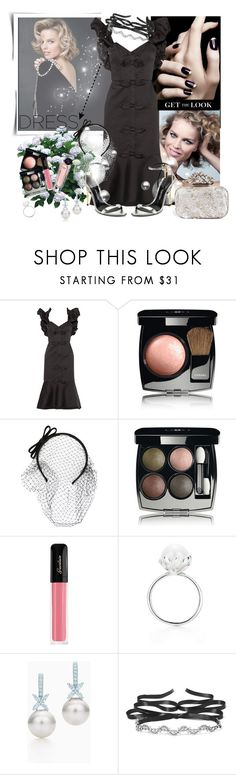 """""""So Pretty: Dreamy Dresses"""" by danijelapoly ❤ liked on Polyvore featuring Johanna Ortiz, Chanel, RED Valentino, Guerlain, Jimmy Choo, Tom Ford, Paloma Picasso, Tiffany & Co., Jennifer Behr and Lancôme"""
