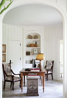 Serene Country Home Office // Photographer André Rider // House & Home September 2010 issue