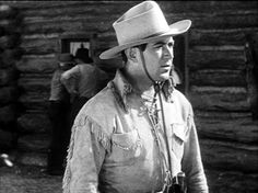"""Johnny Mack Brown as Kit Carson in """"Fighting with Kit Carson"""""""