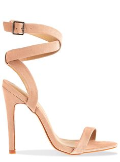 33003f646d9d Express Square Toe Scalloped Heeled Sandal