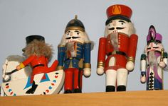 Wooden Nutcracker Figures   Made-Good: THINGS IN MY HOME- GERMAN WOODEN FIGURES (NUTCRACKERS)