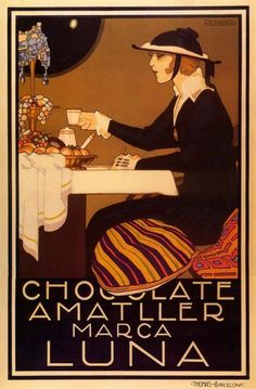 30 Gorgeous, Delicious Vintage Chocolate Posters