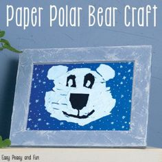 Winter Crafts for Kids to Make - Fun Art and Craft Ideas for All Ages - Easy Peasy and Fun Kindergarten Crafts, Classroom Crafts, Preschool Crafts, Preschool Bulletin, Winter Crafts For Toddlers, Toddler Crafts, Winter Activities, Bear Crafts, Snowman Crafts
