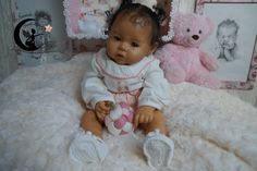 Siam. Reborn Baby doll girl kit Raven de Ping Lau.