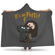 Harry Potter It's So Fluffy Hooded Blanket - Hooded Blanket - it's So Fluffy / Youth 60x45