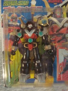 Power-Ranger-Lost-Galaxy-Gingaman-Bull-Taurus-Megazord-Figure-YUTAKA-1998-Japan