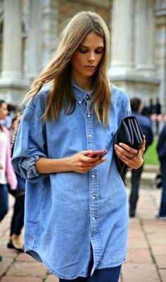 Buttoned up ::: Blusas abotonadas hasta el Cuello