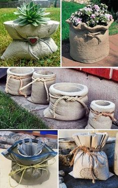Relief Kreation Recycling: Kreativ aus dem Hobbibeton Relief Creation Recycling: Creative from the hobby concrete – Diy Concrete Planters, Cement Art, Concrete Crafts, Concrete Garden, Diy Planters, Garden Planters, Gravel Garden, Balcony Garden, Succulents Garden