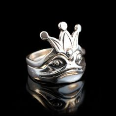 Golden Leafs,925 Silver,Handcrafted,Leaf Wings,Artisan,Silver,Engraving,Elvish Pine Tree Silhouette Ring,Wood Bark