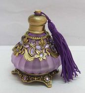 Passiflora Purple Tasseled Pear Perfume Bottle