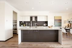 Modern country style kitchen.