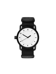 TID Watches Sverige - TID No. 1 White / Black Nylon Wristband