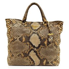 Prada Tri-Color Snake Embossed Tote http://www.consignofthetimes.com/product_details.asp?galleryid=7164