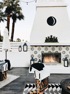 I like the tiles around the fireplace. Maybe for the backsplash or bathroom floor or entry way floor?