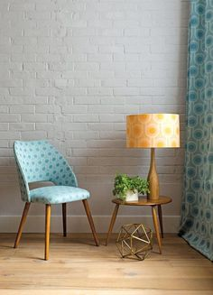 Update your space with a patterned lampshade. #EtsyFinds