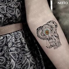 Neeio - Waterproof Temporary Tattoo (Elephant)
