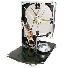 Hard Drive Clock – TECOART - $50