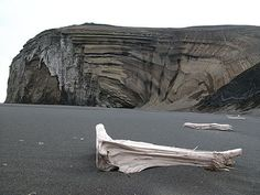 A beach on Jan Mayen