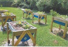 "FARM SHOW - ""Half-Barrel"" Raised Garden Beds"
