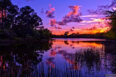 Purple sunset at Lake Secret | Flickr - Photo Sharing!