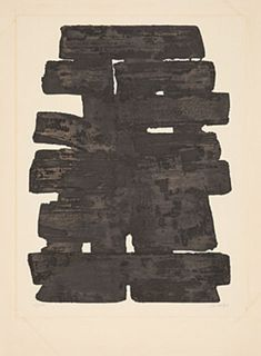 Find the latest shows, biography, and artworks for sale by Pierre Soulages. After moving to Paris in Pierre Soulages began using walnut stain to make g… Moving To Paris, Black And White Abstract, Walnut Stain, Contemporary Art, Abstract Art, Artsy, Artwork, Gallery, Work Of Art
