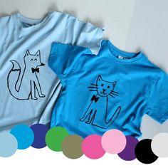 KIDS' T-SHIRTS - The Art Room Black Print, Bright Pink, Screen Printing, Stockings, Tees, Room, Mens Tops, T Shirt, Collection