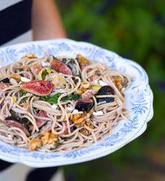 Fig & Walnut Spaghetti