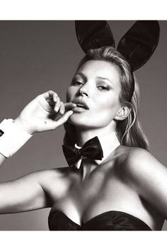 Check Out Kate Moss' Playboy Pics