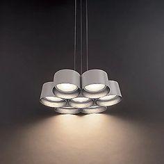 Modern Forms Marimba LED Chandelier | YLighting.com Closet Lighting, Led Module, Glass Diffuser, Led Chandelier, Modern Lighting, Ceiling Lights, Home Decor, Ceiling Lamps, Interior Design