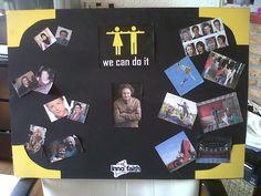 Het moodboard dat ik gemaakt heb in het eerste jaar van de MEM. het moodboard was voor het project tvprogramma maken.