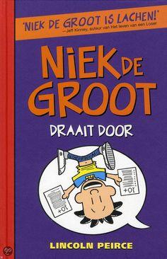 Niek de Groot 5 - Niek de Groot draait door - LAURENS Frosted Flakes, Cereal, Lincoln, Comic Books, Groot, Layout, Typography, Comic Strips, Page Layout