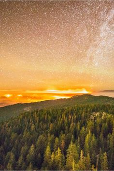 Breathtaking nighttime photos of the California wildfires