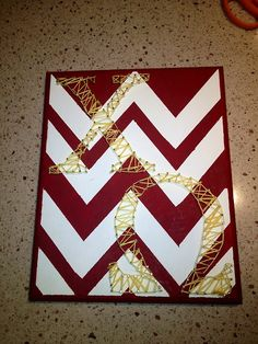 Super cute craft idea! #sorority