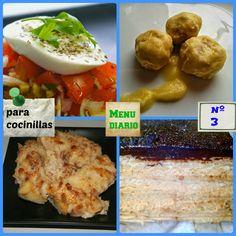 Menú diario para cocinillas, menú nº3 | Cocinar en casa es facilisimo.com
