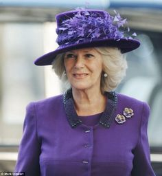 Camilla, Duchess of Cornwall attends the annual Commonwealth Day Observance Service at Westminster Abbey on March 2012 in London, England. Get premium, high resolution news photos at Getty Images Camilla Duchess Of Cornwall, Duchess Of Cambridge, Commonwealth, Queen And Prince Phillip, British Royal Families, Fancy Hats, Herzog, British Monarchy, Westminster Abbey