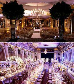 EXTRAVAGANT WEDDING RECEPTIONS IDEAS | Kim Kardashian Wedding Reception Decorations