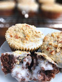 almond joy inspired dairy-free chocolate cupcakes