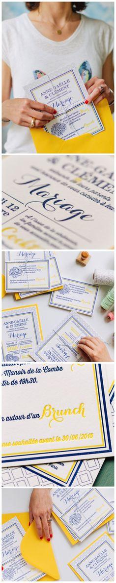 Wedding Custom creation  #letterpress #wedding #faire-partletterpress #faire-partsurmesure #fairepartsurmesure #faire-partmariage #fairepartmariage