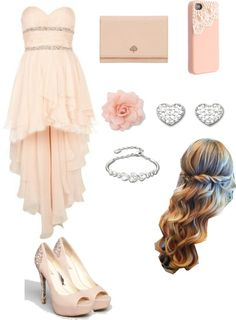 """Beautiful Prom Outfit"" by cutenbeautiful ❤ liked on Polyvore"