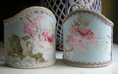 Pair of Wall Sconce ClipOn Shield Shades by OggettiVeneziani