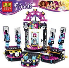 $29.99 (Buy here: https://alitems.com/g/1e8d114494ebda23ff8b16525dc3e8/?i=5&ulp=https%3A%2F%2Fwww.aliexpress.com%2Fitem%2F448pcs-set-BELA-Friends-Girls-Stage-Building-Blocks-DIY-Building-Bricks-Model-toys-Compatible-Legoelieds%2F32627231205.html ) 448pcs BELA Building Blocks Friends Music Stage Princess Girl Minifigures Buildable Figures Compatible Legoe Friends 41105 for just $29.99
