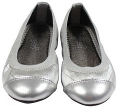 FootMates Lunne Dress Shoe Silver Size 7