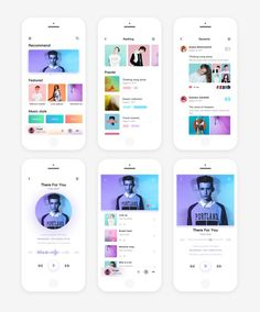 This is our daily iOS app design inspiration article for our loyal readers. Every day we are showcasing a iOS app design whether live on app stores or only designed as concept. Ios App Design, Web Design Mobile, Design Ui, Interface Design, App Design Inspiration, Apps, Conception D'applications, Mobile Application Design, Mobile App Ui