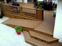 Custom deck design, patio and gazebo contractor in Redondo Beach Handicap Ramps, Handicap Accessible Home, Ada Accessible, Ramp Design, Deck Design, Porch With Ramp, Wheelchair Ramp, Patio Steps, Garden Steps